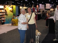 Beth and her sister Cheryl at the American Library Association conference