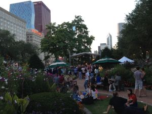 The scene at Chicago Summer Dance.