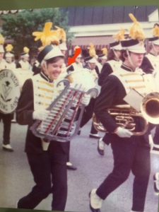 Back in high school I was in the marching band.