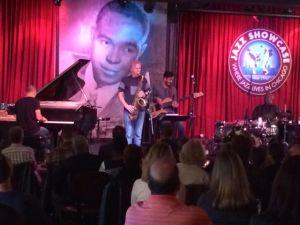 The Yellowjackets' Bob Mintzer takes a solo at Jazz Showcase.