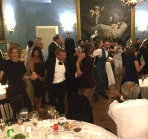 At Sasha's and James' wedding, there was much music and just as much dancing.