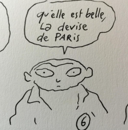 One of the cartoons posted by Hebdo cartoonist Joann Sfar posted on his Instagram feed.