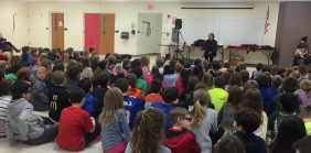 A full house at Lincoln Elementary.