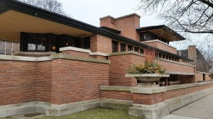 Monica also visited Robie House in Chicago -- in addition to taking the Oak Park tour.