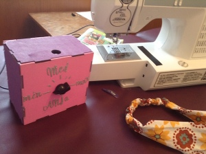 That's the feed control box designed by the Sew Good group.